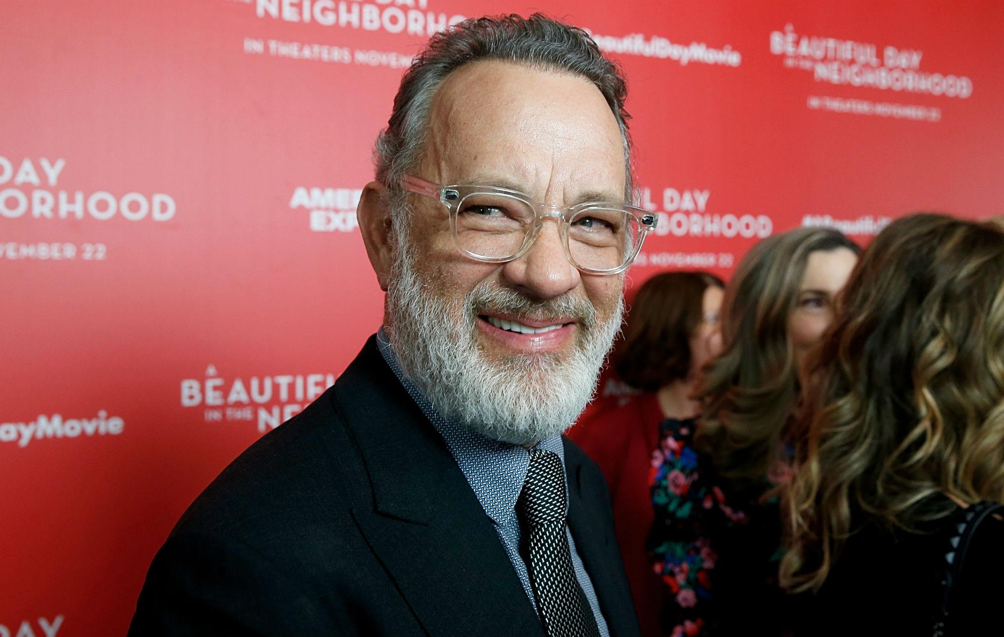 "Tom Hanks talks about ""crippling body aches"" from coronavirus"