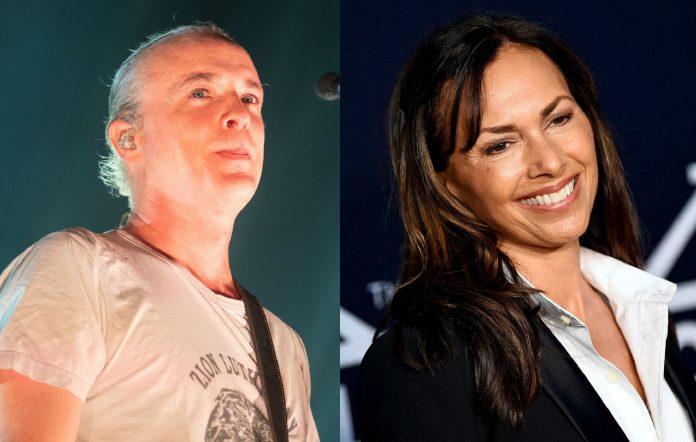 Travis frontman Fran Healy and Susanna Hoffs