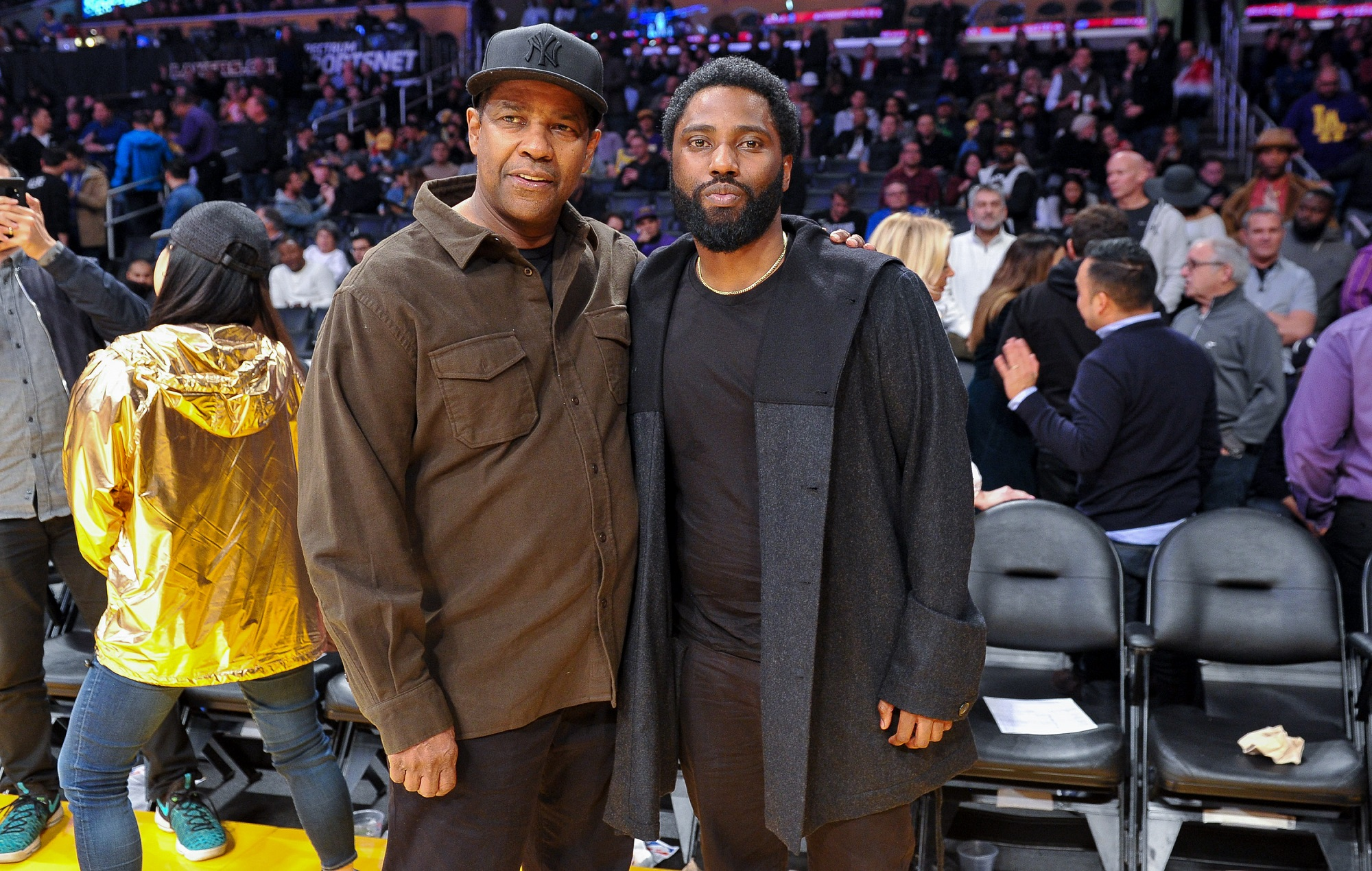 """John David Washington used to tell people his dad Denzel was """"in jail"""" - NME"""
