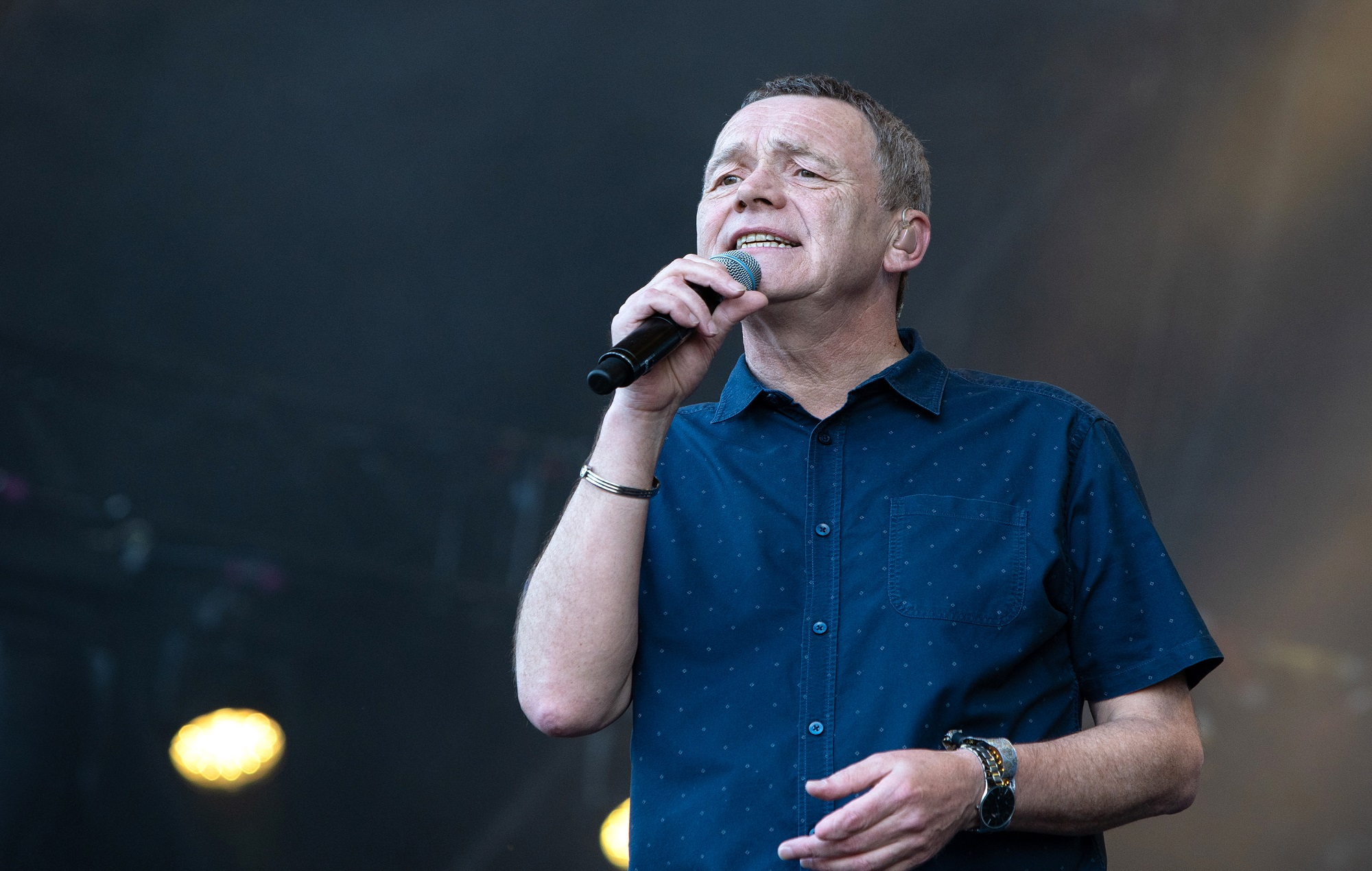 UB40 singer Duncan Campbell admitted to hospital after suffering a stroke