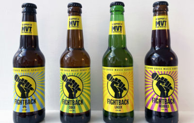 NME readers can exclusively get £10 off a pack of Fightback Lager – with money raised going to help save UK music venues.