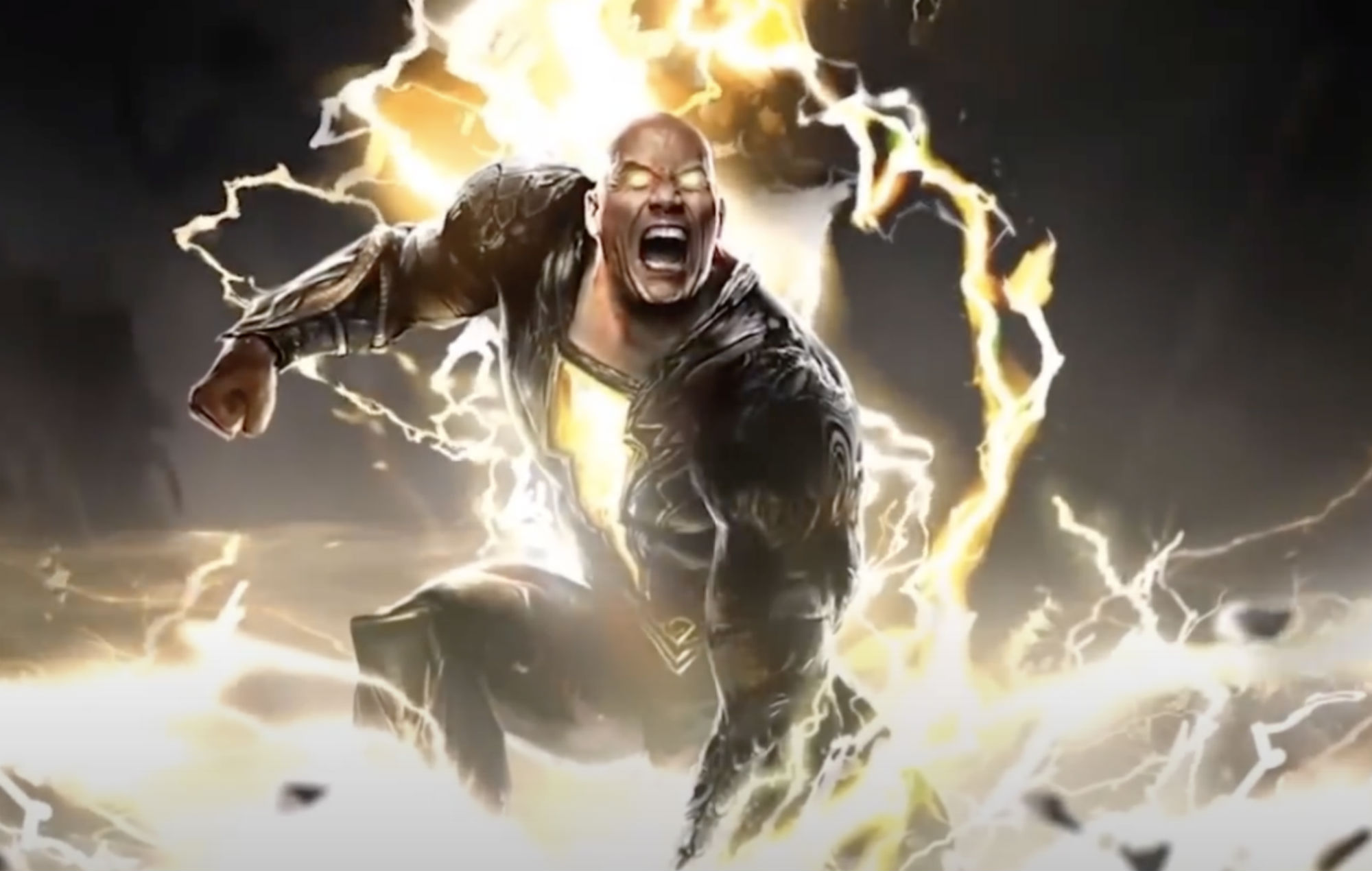 Dwayne 'The Rock' Johnson unveils first look at Black Adam character