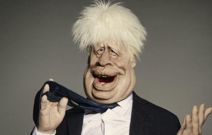 Boris Johnson Spitting Image