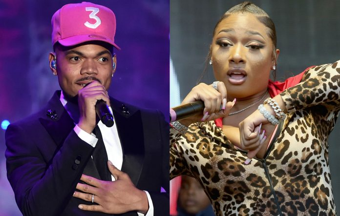 Chance the Rapper and Megan Thee Stallion