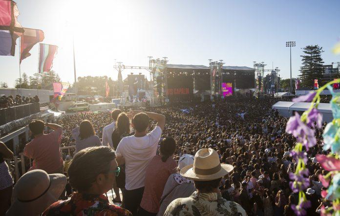 Falls Festival in Fremantle