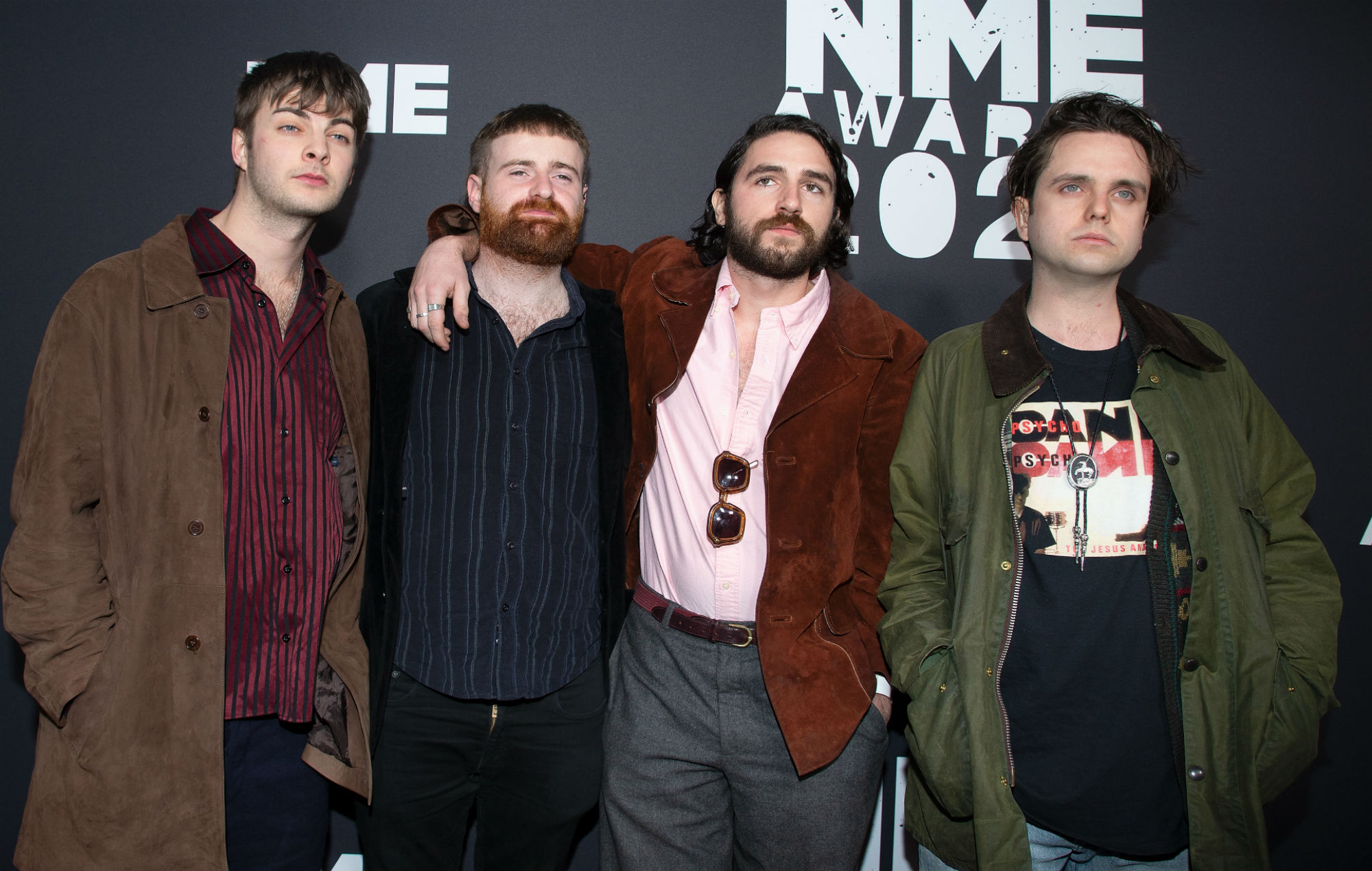 Fontaines D.C. at this year's NME Awards