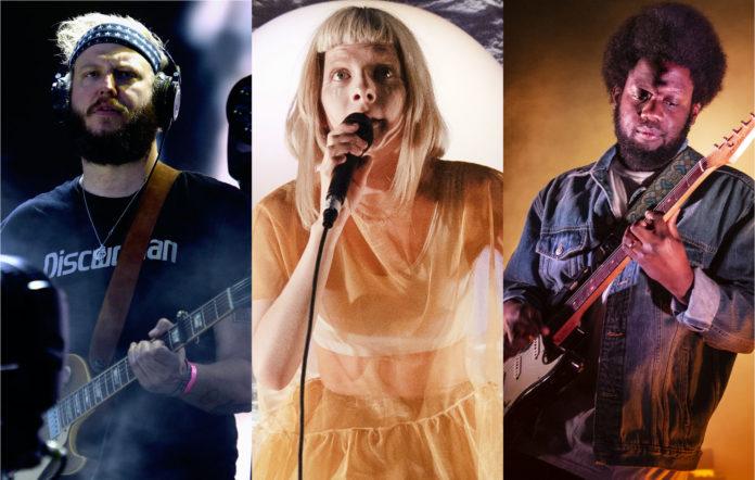 Bon Iver, Aurora, Michael Kiwanuka among first names for Øya festival 2021