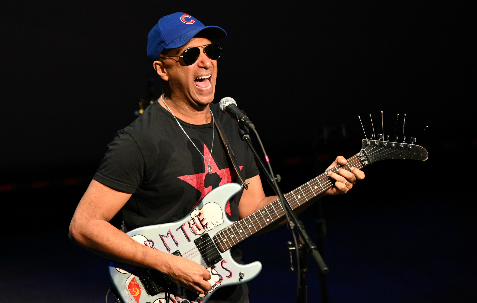 "Tom Morello responds to Twitter user who accused him of ""white privilege"": ""I'm not white"""