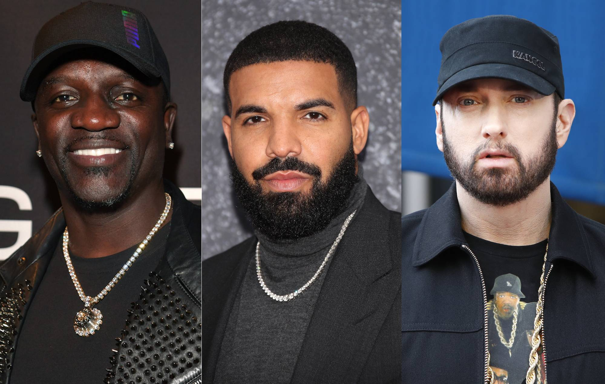 """Akon turned down chance to sign Drake because """"he sounded like Eminem"""" thumbnail"""