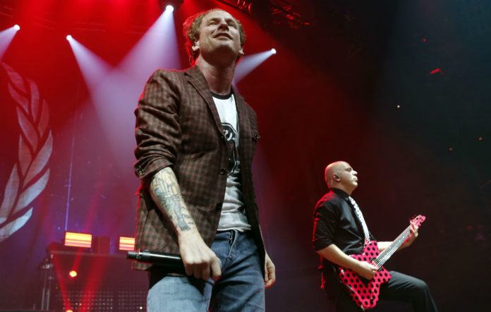 Corey Taylor with Stone Sour