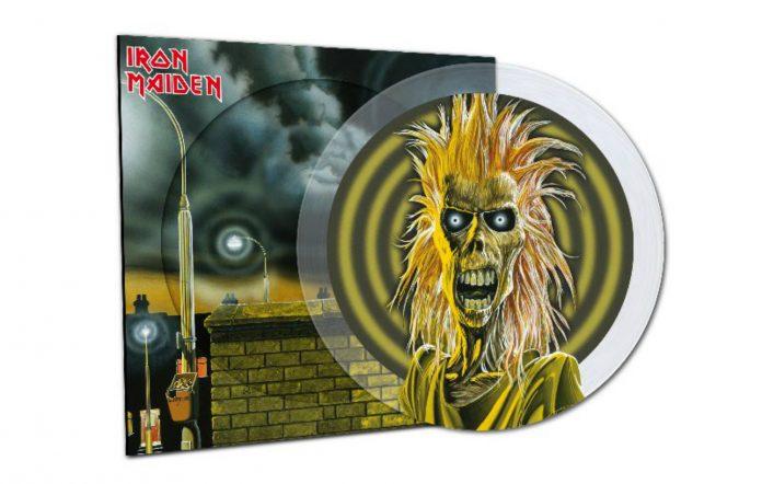 Iron Maiden debut album reissue