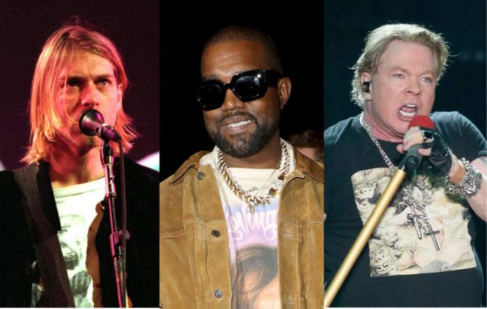Kurt Cobain Kanye West Axl Rose