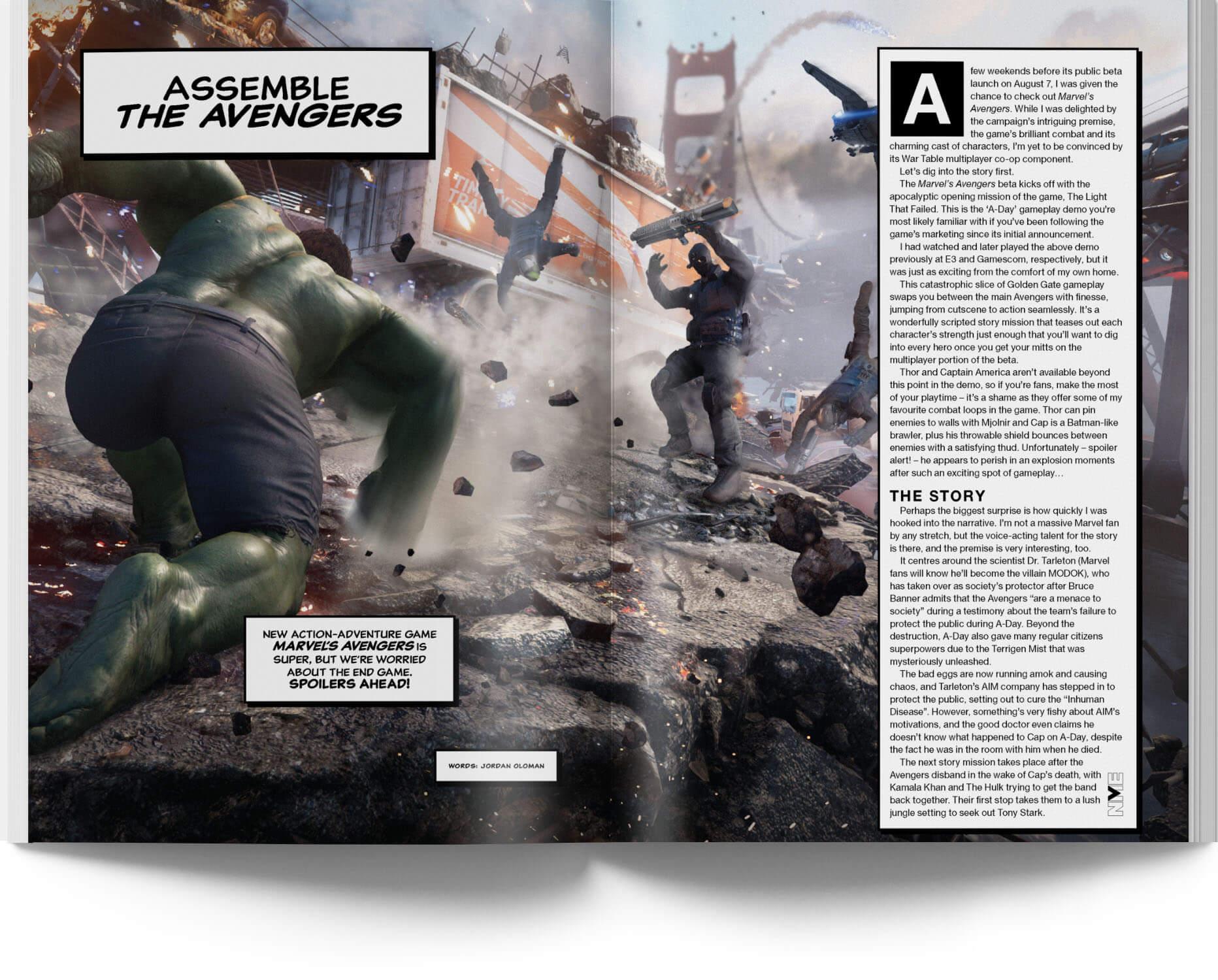 nme australia marvel's avengers