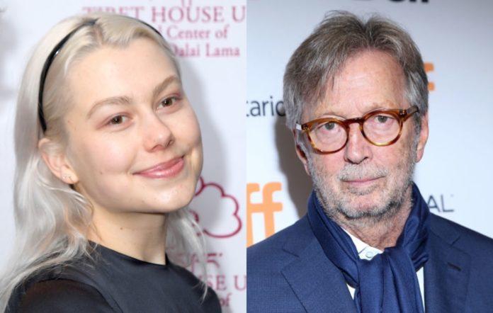 Phoebe Bridgers and Eric Clapton