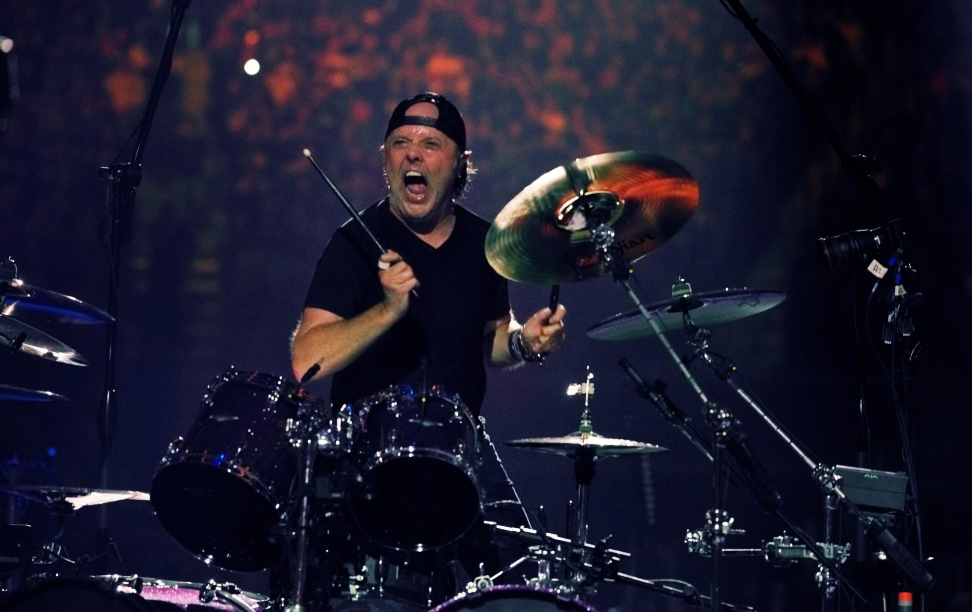 Metallica Lars Ulrich S&M 2 live