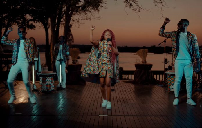 Sampa The Great premieres a new song from Zambia live performance