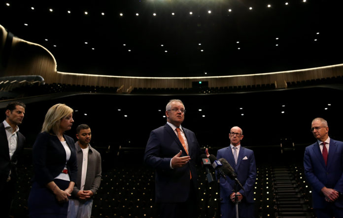Prime Minister Scott Morrison announces the $250 million support package for the arts and cultural sectors