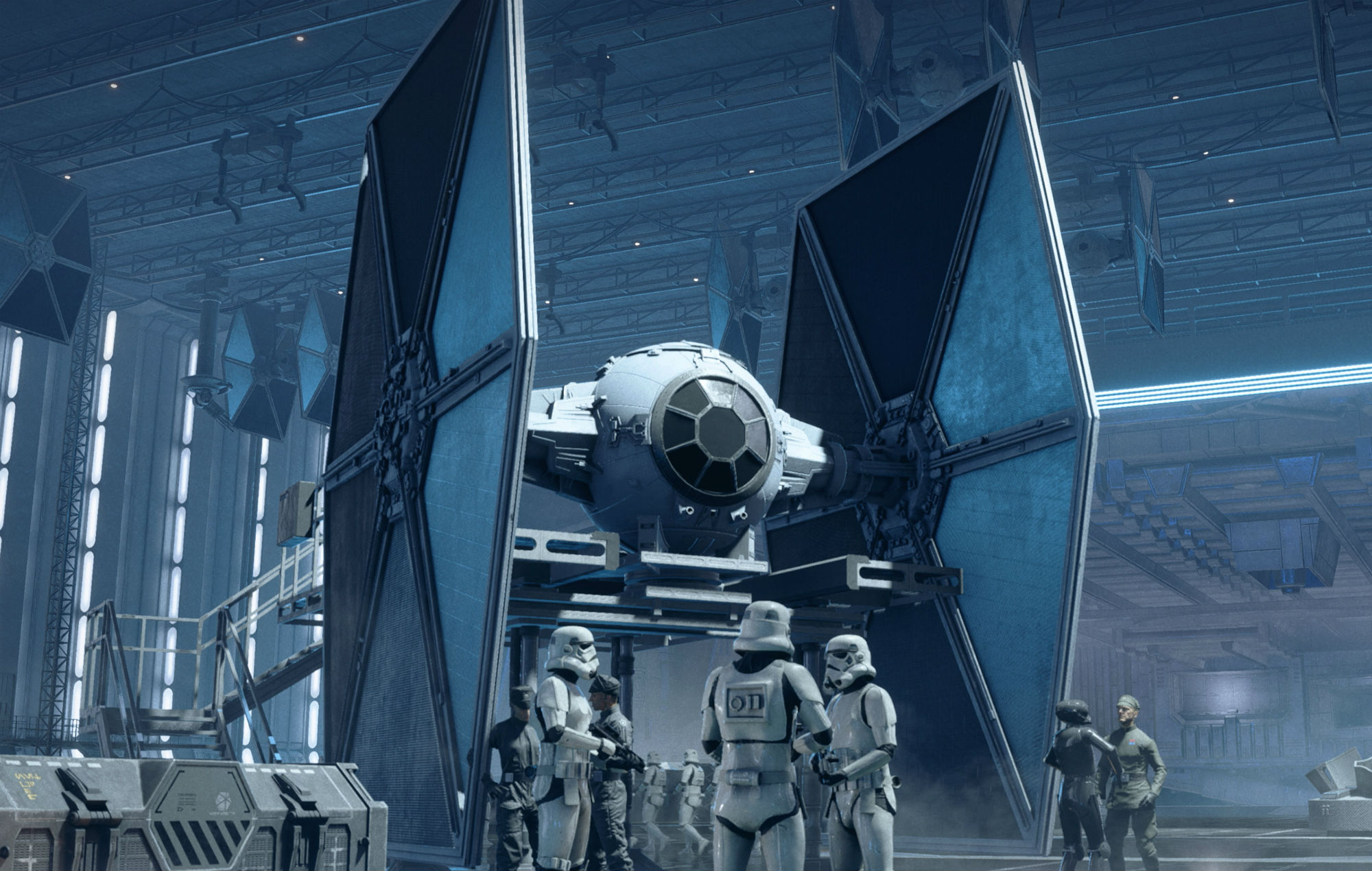 Watch action packed single player gameplay for 'Star Wars ...