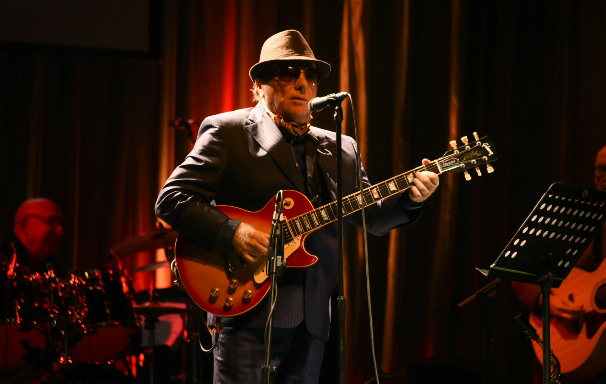 Van Morrison to play two socially-distanced gigs in London this autumn