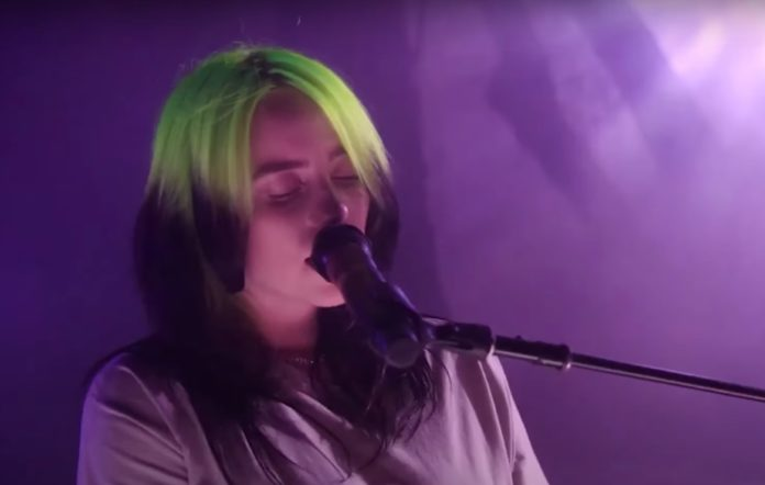 billie eilish 2020 performance my future youtube pbs