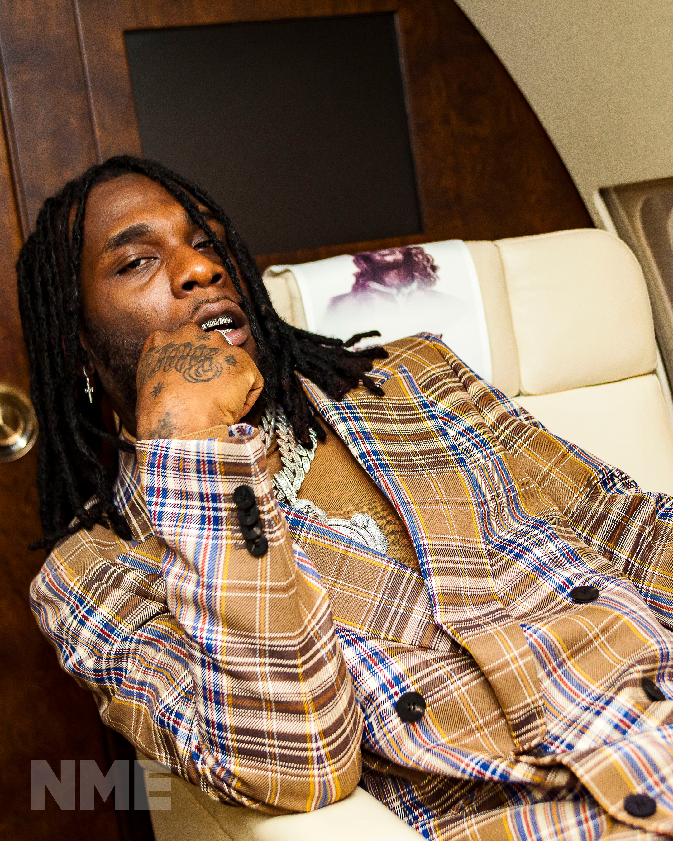 burna boy nme cover interview