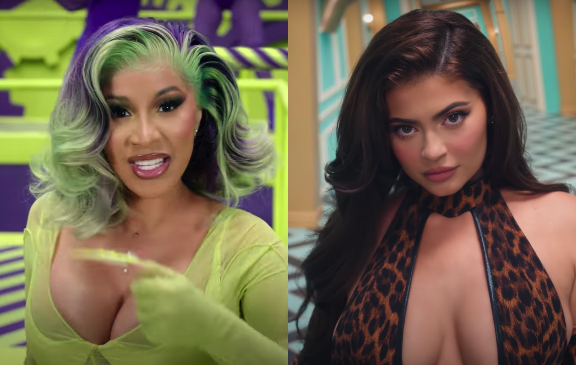 Cardi B Defends Casting Of Kylie Jenner In Wap Music Video