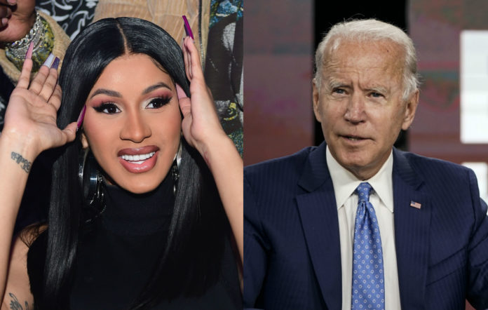 Cardi B / Joe Biden