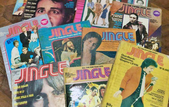 Jingle Magazine covers