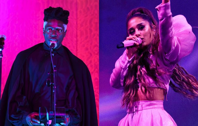 moses sumney ariana grande getty images paras griffin kevin mazur