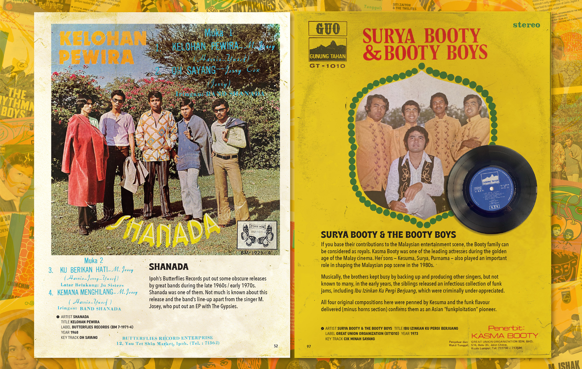 Psyche Oh A Go Go Malaysia Singapore pop music 60s 70s