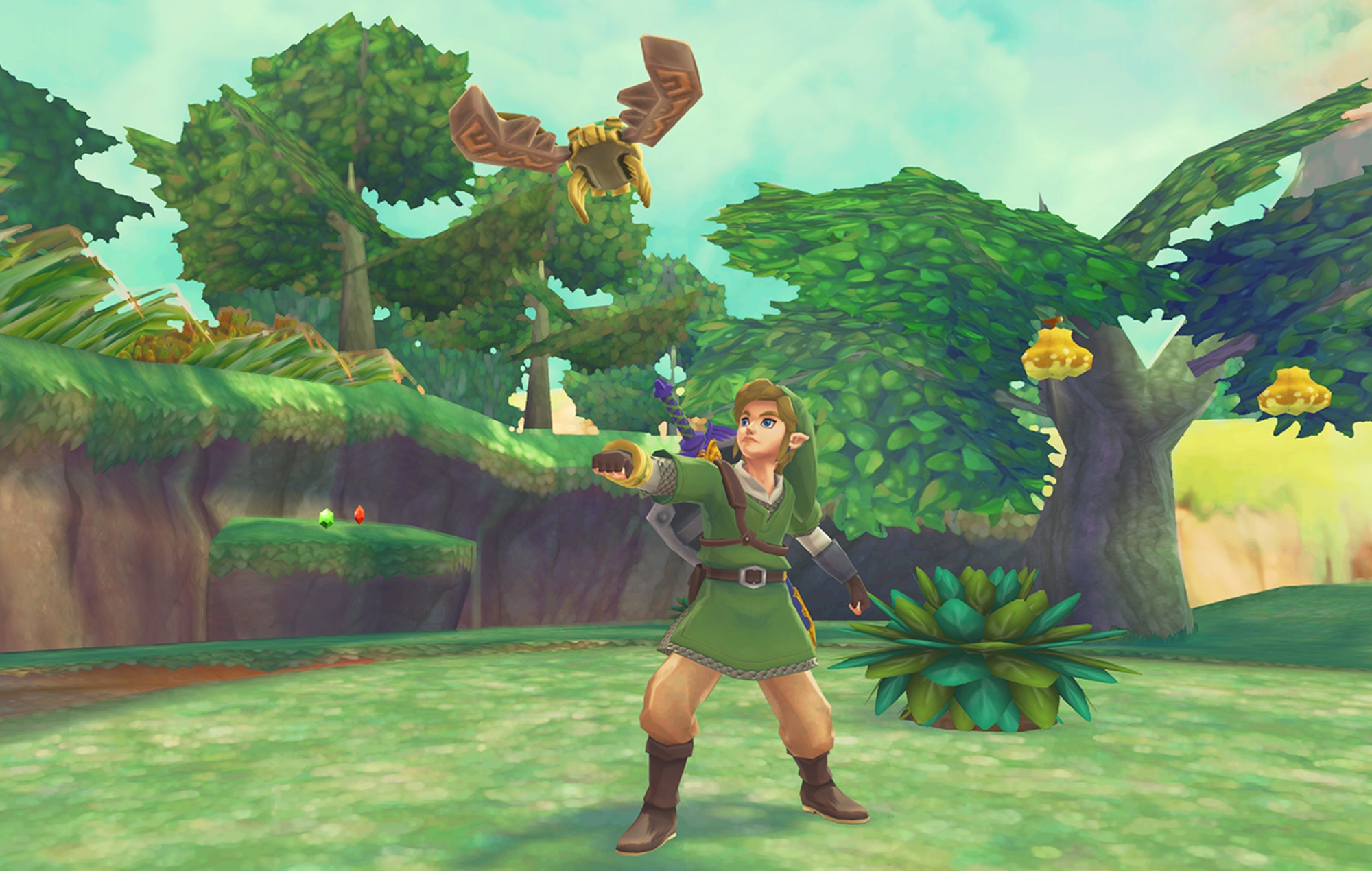 The Legend Of Zelda Skyward Sword Could Be Ported To Nintendo Switch