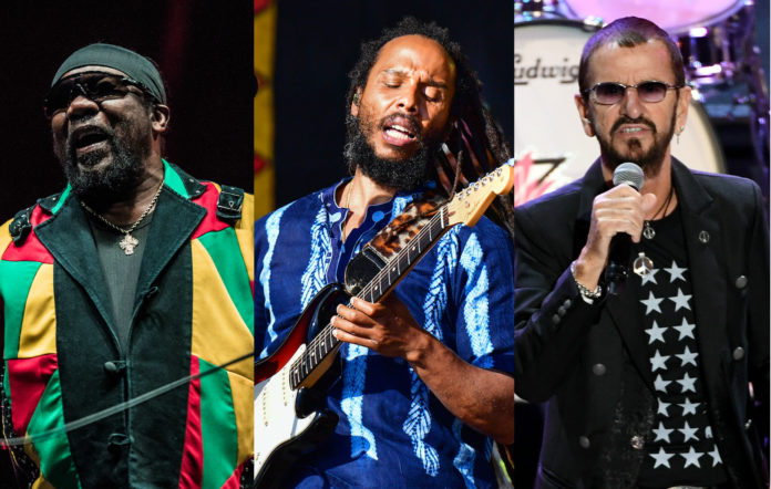 Toots And The Maytals, Ziggy Marley, Ringo Starr