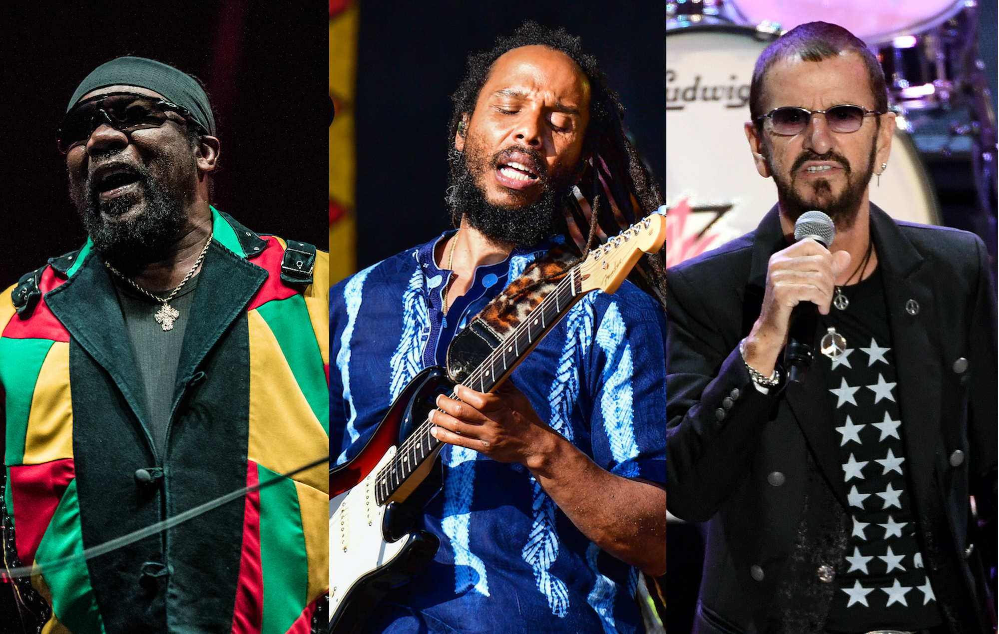 Listen to Toots And The Maytals, Ziggy Marley and Ringo Starr team up on Bob Marley cover