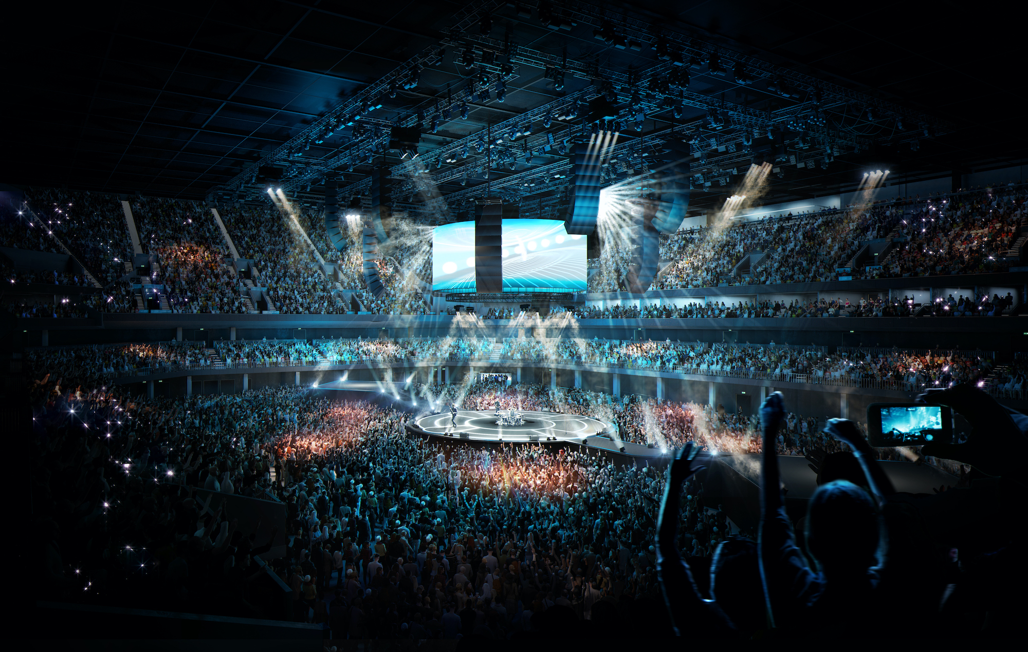 Plans confirmed for huge new 23,500 capacity arena in Manchester