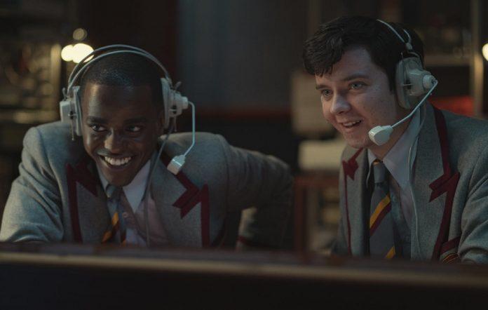 Ncuti Gatwa as Eric Effiong, Asa Butterfield as Otis Milburn