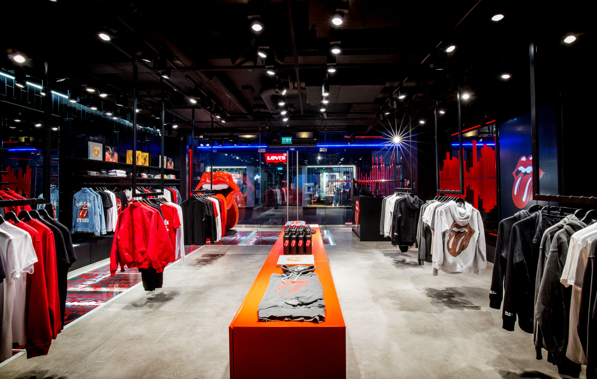 The Rolling Stones' 'RS No. 9 Carnaby' shop