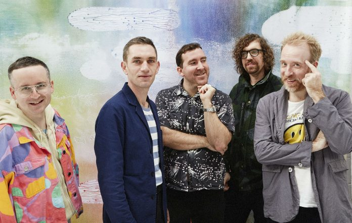 Hot Chip have announced their own 'Late Night Tales' album. Credit: Ronald Dick