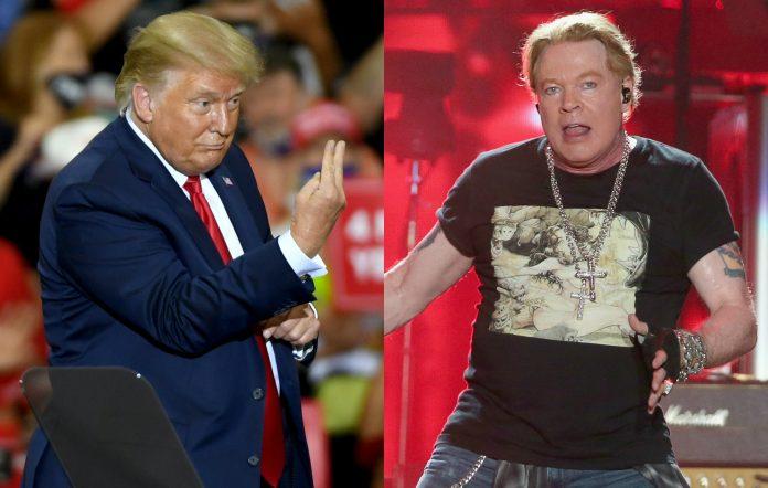 Trump Guns N' Roses
