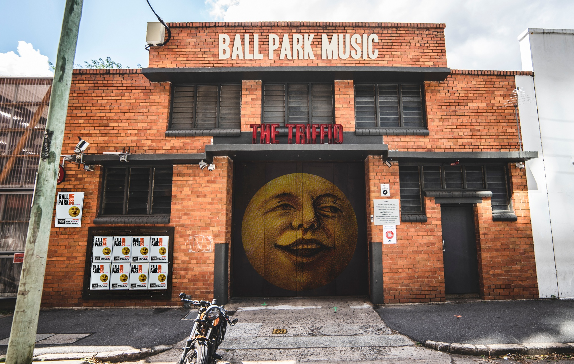 The Triffid with Ball Park Music redesign