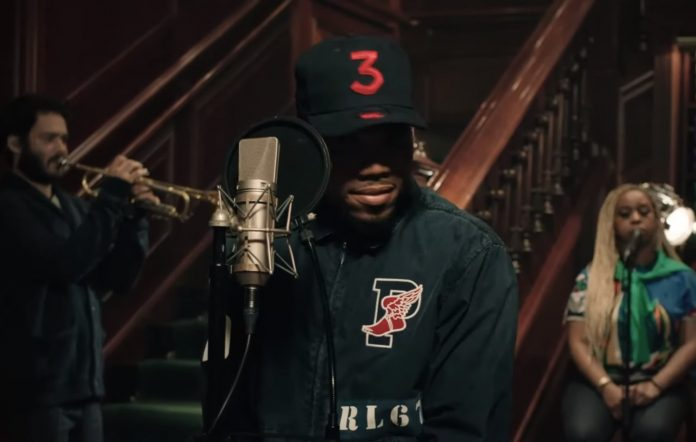 Chance The Rapper performs live from a Chicago Ralph Lauren store