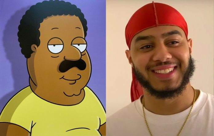 Family Guy Cleveland Brown Arif Zahir