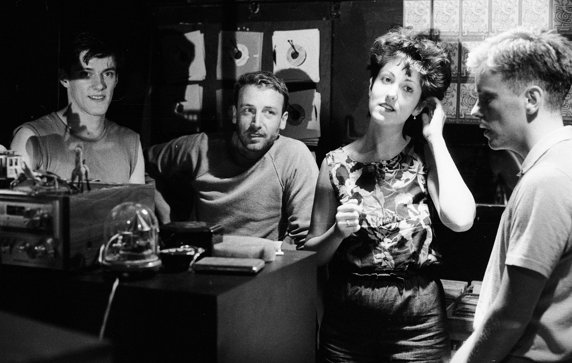 New Order in New York in 1982. Credit: Kevin Cummins/Press