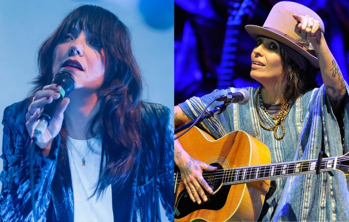 Sharon Van Etten writing with Linda Perry