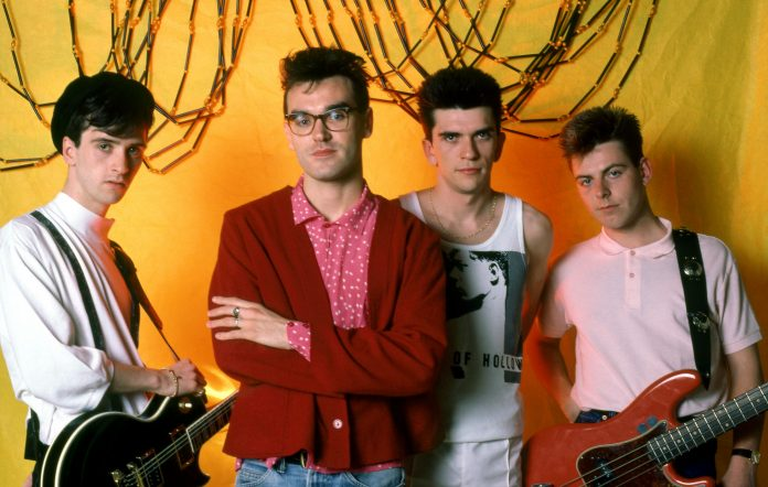 The Smiths in 1985. (Photo by Ross Marino/Getty Images)