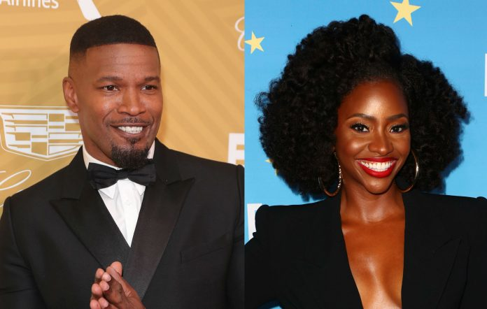 Jamie Foxx and Teyonah Parris