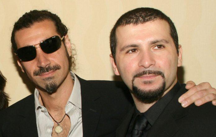 Serj Tankian and John Dolmayan of System Of A Down