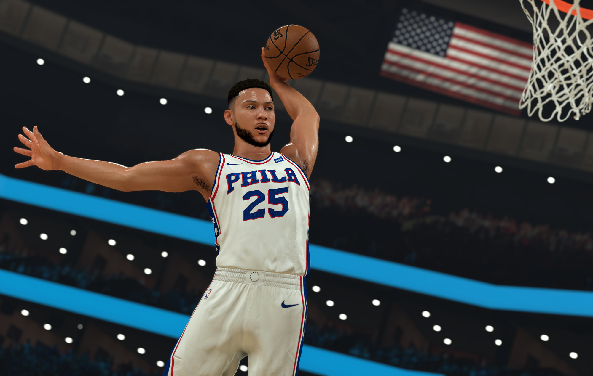 Ben Simmons from NBA 2K21
