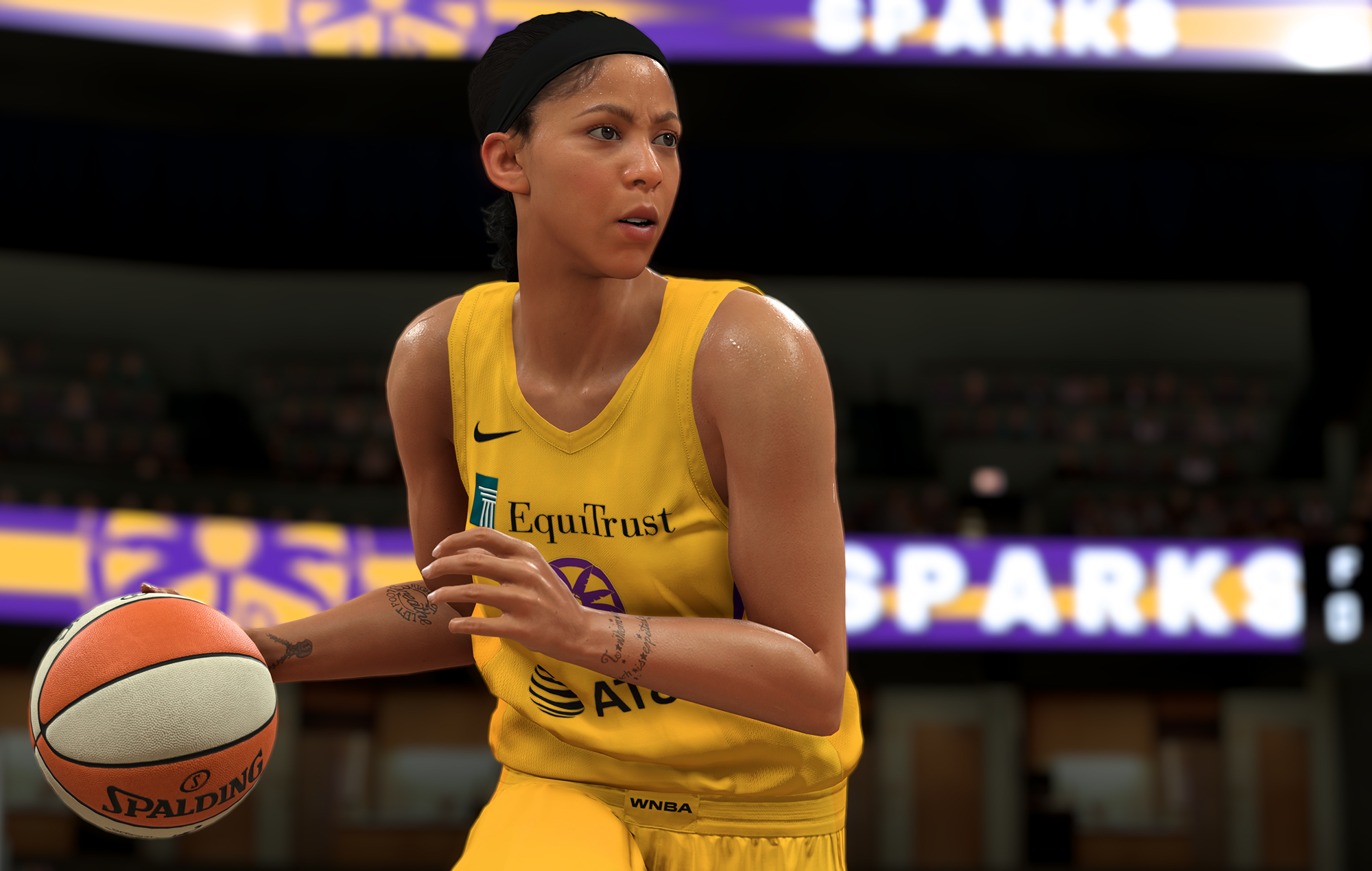 Candace Parker from NBA 2K21
