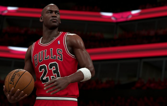 Michael Jordan from NBA 2K21