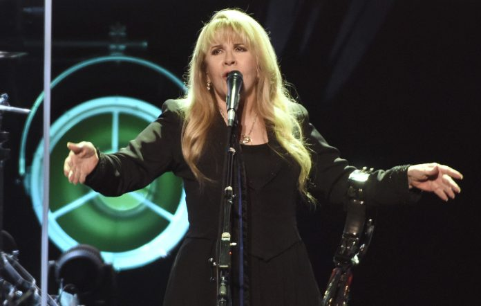 Stevie Nicks during her '24 Karat Gold' tour.